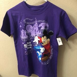 New Walt Disney World 2017 Girls Youth T-Shirts